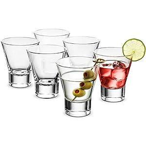 Bormioli Rocco 6-Pack YPSILON Cocktail Glasses set – 8.5...