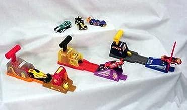 McDonalds - Hot Wheels Complete Happy Meal Set - 2002