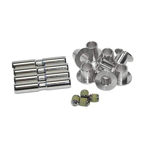 Suntour Unisex– Erwachsene Sattelstütze-2222060600 Sattelstütze, Silber, One Size