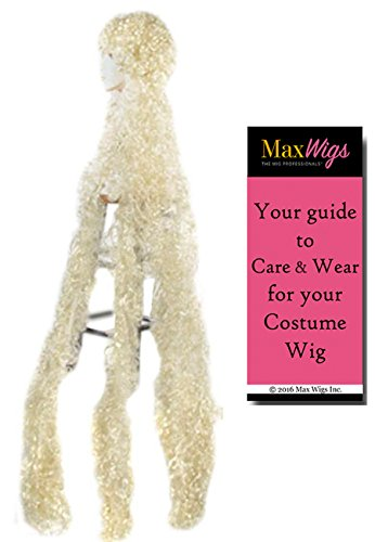 Bargain Curly Godiva Lacey Wigs 5 ft Long Rapunzel Princess Women Bundle with MaxWigs Costume Wig Care Guide