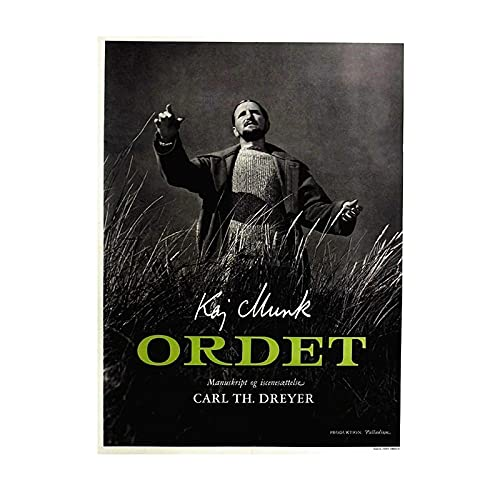 Ignite Wander The Vampire of Carl Theodor Dreyer France Film Posters and Prints Canvas Painting Wall Art Pictures Living Room Home Decor -50x70 cm No Frame