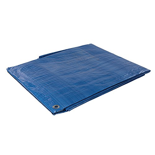 Silverline 244987 Bâche, Bleu, 2.4 x 3m