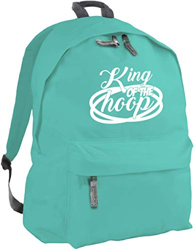 HippoWarehouse King of The Hoop Backpack ruck Sack Dimensions: 31 x 42 x 21 cm Capacity: 18 litres