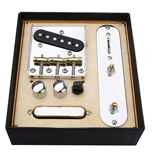 Northwest Guitars Tonabnehmer für Telecaster E-Gitarre, 85,5 x 77 x 10,5 mm, inkl. Zubehör, Sport und Unterhaltung für Saiteninstrumente