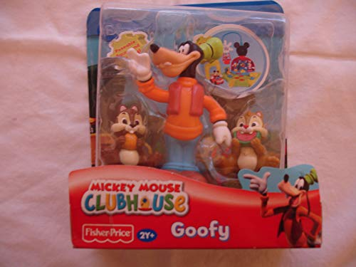 Disney - Mickey Mouse Clubhouse / Micky Maus Wunderhaus - 3-Pack - Goofy mit Chip & Dale - OVP