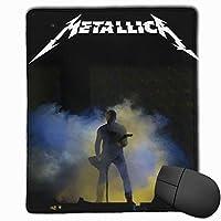 メタリカ Metallica マウスパッド ユニークなデザイン かわいい レーザー 防水 アニメ Pc パソコン用 快適 耐久性 おしゃれ 滑り止め 光学式マウス対応 耐洗い表面