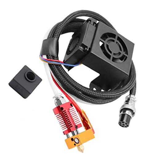 MK8 Extruder 3D Printer Extruders Kit Assembly Fully Equipped with Hotend for 3D Printer 12V Gift for Father
