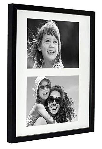 BD ART 28 x 35 cm Mehrfach Bilderrahmen, Bildergalerie, Fotogalerie mit Passepartout und 2...
