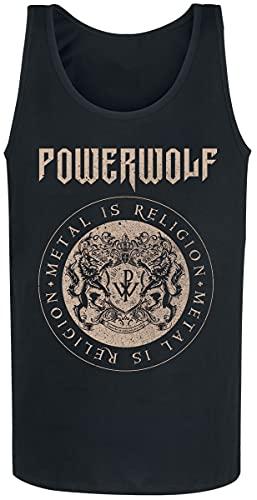 Powerwolf Crest Circle Männer Tank-Top schwarz XL 100{6a44c70ee4f22a63cf053cdc4e36d211486b48c5afec24fffc3ff6e72fc5acb5} Baumwolle Band-Merch, Bands