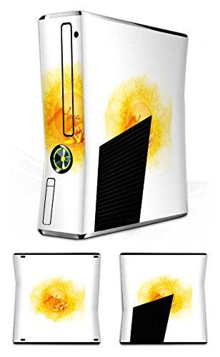 DeinDesign Skin kompatibel mit Microsoft Xbox 360 Slim Aufkleber Folie Sticker Yoga Sport Hobby
