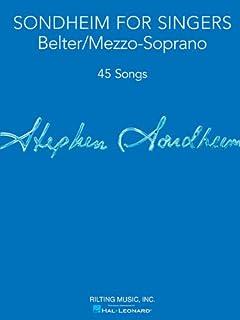 Sondheim For Singers - Belter/Mezzo-Soprano