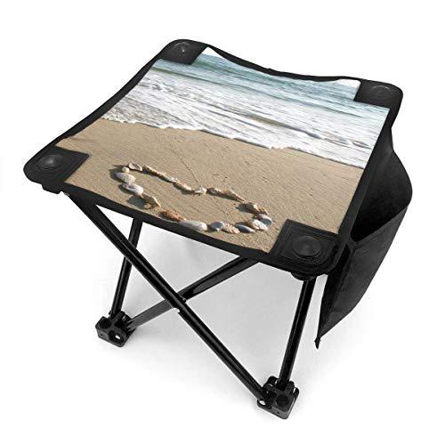 End Nazi Tabouret de Camping chaises Pliantes Wide Love Beach Siège de Chaise Portable