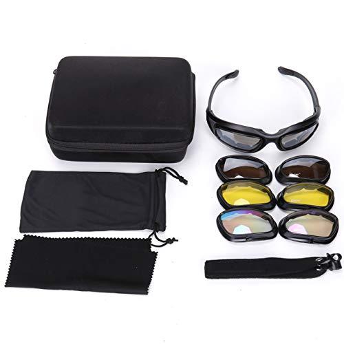 Military Ba 4 Lens Kit Transition Polarized Daisy One X7 Army Sunglasses Military Goggles 5-1