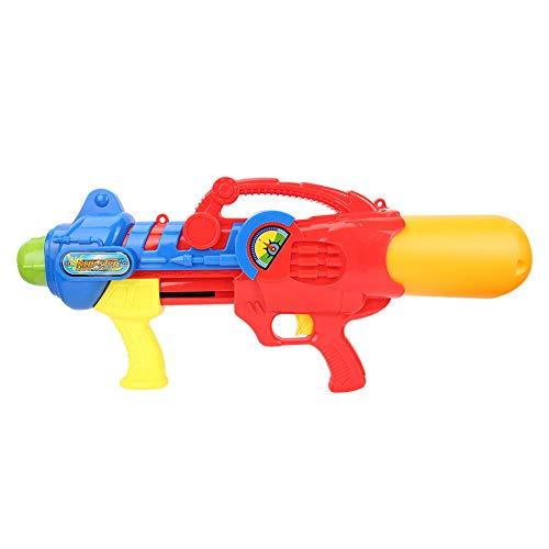 Pistola de juguete simple, Piscina de verano Material de plástico Pistola de agua 64 * 27 * 11 cm con plástico