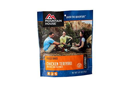 Mountain House Chicken Teriyaki with Rice, Pouch