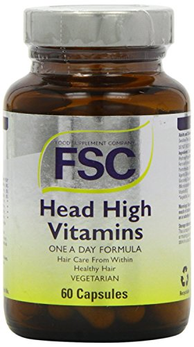 FSC Head High Vitamins for Healthy Hair - 60 Caps (Pack of 2)
