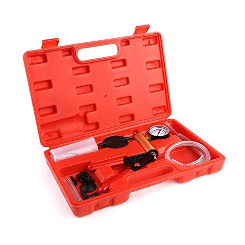 Handheld Vakuumpumpentester Set vakuumpumpe und bremsenentlüftungsgerät für Automobile mit Adapterkoffer