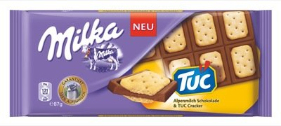 Milka Schoko 87g, Milka & TUC 16 x 87 g