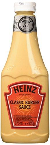 Heinz HZ KK Burger Sauce, Confezione da 6x875 ml