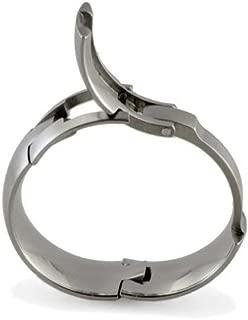 TG-5: Toggle-Pull Hinged Titanium Wedding Ring