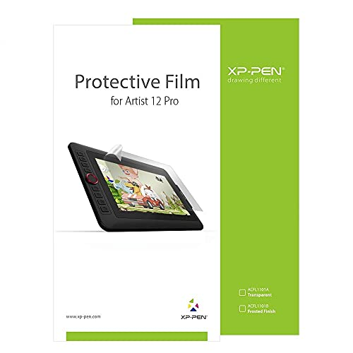 XP-PEN AC80 Film Protecteur Film de Protection Anti-reflet Anti-Rayure pour Artist 12 Pro -2pcs / Pack