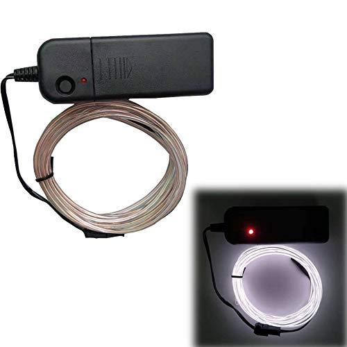 XINGX El Cable de Alambre Led Luz de Cadena Luminosa Resplandor El...
