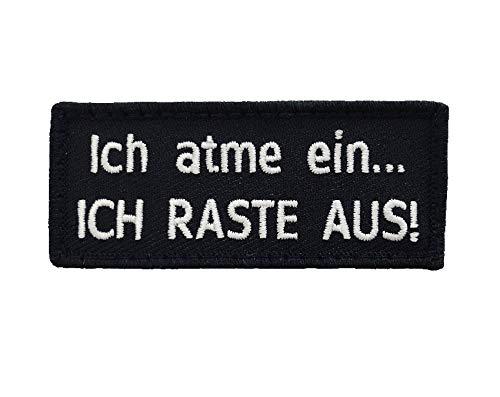 Café Viereck ® B&eswehr Fun Patch Gestickt mit Klett – 7 x 3 cm