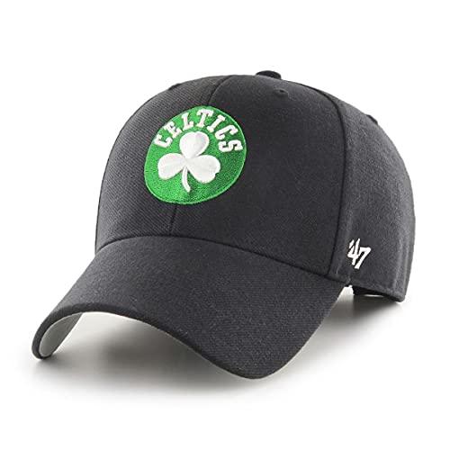'47 Boston Celtics NBA MVP Basic Black Structured Hat Cap Adult Men's Adjustable