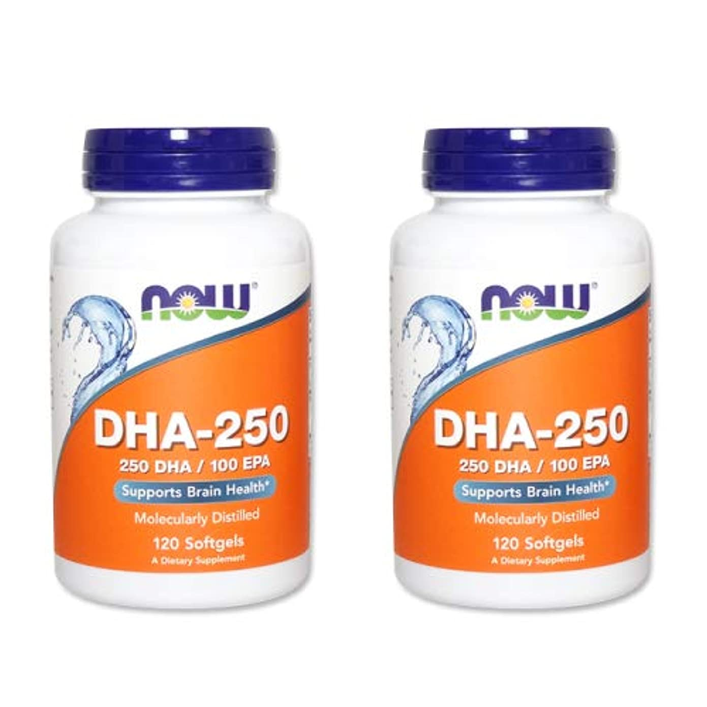 会員ハードウェア変更【2個セット】【粒小さめ低含有タイプ】DHA-250 120粒(DHA&EPA配合) [海外直送品]