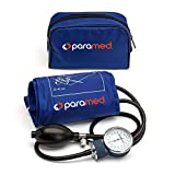 PARAMED Aneroid Sphygmomanometer – Manual Blood Pressure Cuff with...
