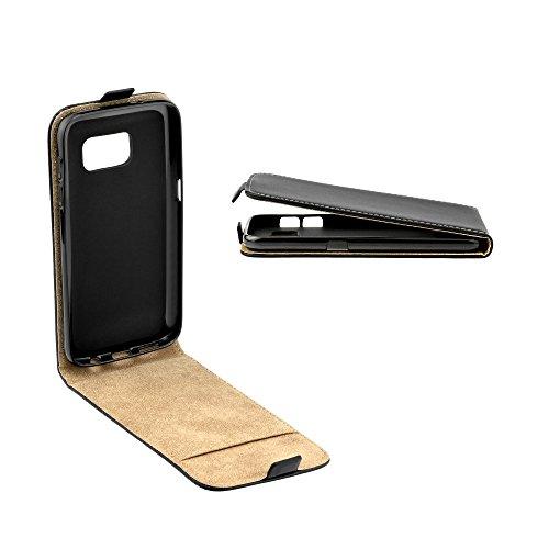 'Housse Flip Case Noir avec intégré Housse en silicone pourHuawei Honor 5 C Etui Housse Coque Étui de protection Cover