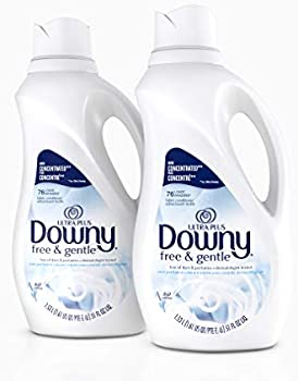 2 Pack Downy Ultra Plus 51-oz. Free & Gentle Fabric Conditioner