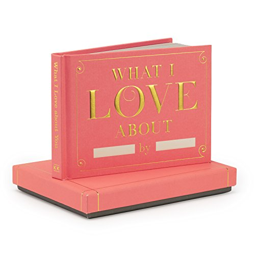 Knock Knock What I Love About You Fill in the Love Journal with Gift Box Photo #7