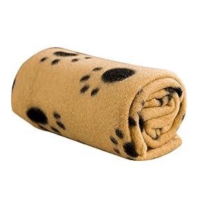 Qifumaer Couverture Chaude, épaisse, Douce et Moelleuse pour Animal Domestique