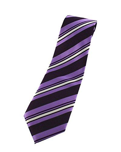 Zac's Alter Ego® Men's épaisseur de Cravate à rayures - Multicolore - Taille unique