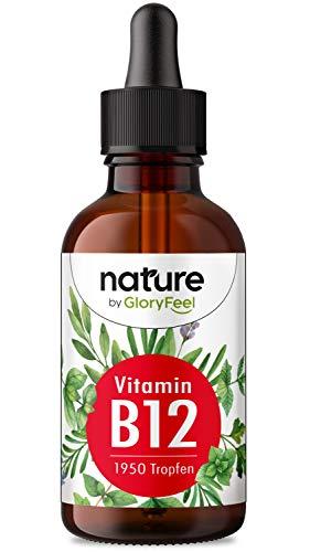 Vitamin B12 Tropfen - 75ml (1950 vegane Tropfen) - Beide Bio-Aktivformen (Methyl- & Adenosylcobalamin) - Ohne Alkohol - Hoch bioverfügar, Laborgeprüft ohne Zusätze hergestellt in Deutschland