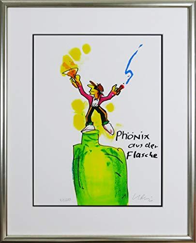 Kunstverlag Christoph Falk Phoenix aus der Flasche