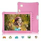 Tablet 10 Pulgadas 3GB de RAM 32GB/128GB de ROM Android 9.0 Certificado por Google GMS 4G Quad Core Full HD Tableta Batería de 8500mAh Dual SIM 8MP Cámara Tablet PC Netflix WiFi Bluetooth OTG(Rosa)