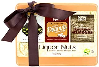 24oz Beer & Whiskey Gourmet Nut Assortment