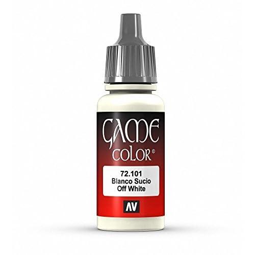 Vallejo Game Color - Colore Acrilico, 17 ml, Bianco (Off White)