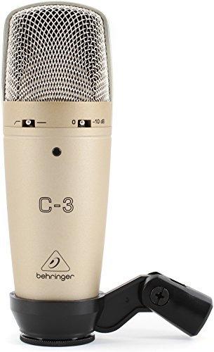 Microfono da Studio Behringer C3 Condensatore Doppio Diaframma Largo