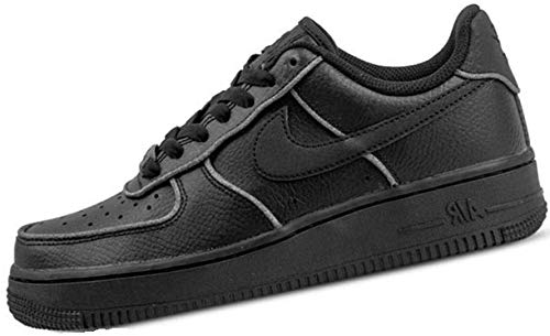Nike Damen W Air Force 1 Lo Sneakers, Schwarz (Black/Black/White 001), 41 EU