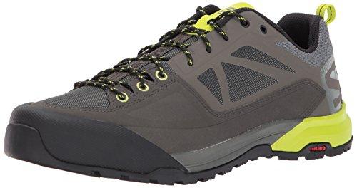 Salomon Salomon Herren X Alp Spry Trekking-& Wanderhalbschuhe, Grau (Castor Gray/Beluga/Lime Punch. 000), 40 EU