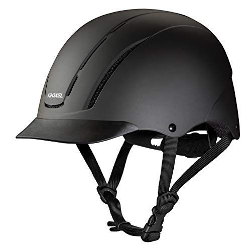 Troxel Spirit Performance Helmet, Black Duratec, Large