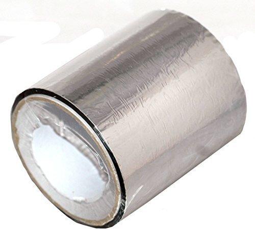 2Roll MP zilveren tape gezamenlijke afdichting aluminium+folie isolatie 20m x 100mm
