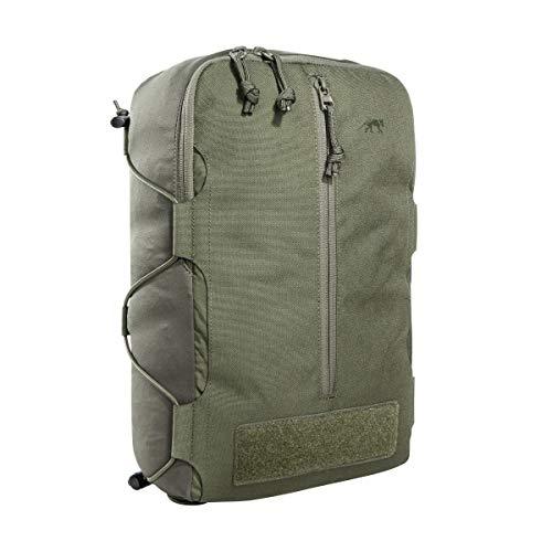 Tasmanian Tiger TT Tac Pouch 14 Rucksack Zusatz-Tasche mit Molle-Reverse-System, 10L Volumen, Zubehör-Tasche für EDC oder medizinische Ausrüstung, 37 x 22,5 x 10 cm, Oliv