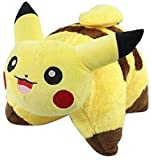 Pikachu Pillow,Soft Plush Pillow, Collapsible Cartoon Pillow Pet Pillow, Very Soft Plush Pillow Cute Yellow Pillow for Kids and Pets