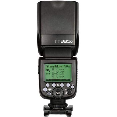 Godox tt685C Think Lite C 1/8000s GN60Dispositivo de Flash de Alta Velocidad para Canon EOS Cámara S de TTL II Negro