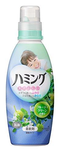 ハミング 柔軟剤 フルーティグリーンの香り 本体 600ml