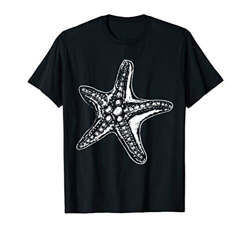 Starfish Art Sea Star Beach Clothes Quote Gift Starfish T-Shirt